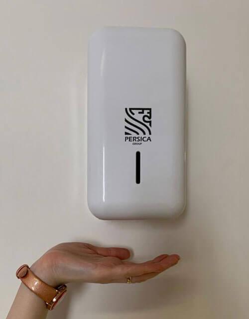 دستگاه ضد عفونی کننده دست اتوماتیک پپرسیکا